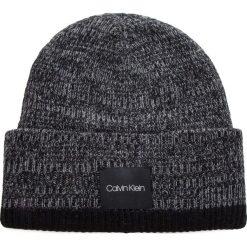 Czapka CALVIN KLEIN - Twisted Yarns Beanie K50K504091 910. Szare czapki i kapelusze męskie Calvin Klein. Za 179.00 zł.