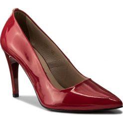 Szpilki OLEKSY - 559/79 Czerwony. Czerwone szpilki damskie Oleksy, z lakierowanej skóry. W wyprzedaży za 189.00 zł.