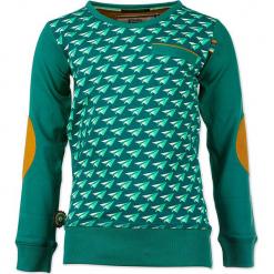 """Sweter """"Paper Aeroplane"""" w kolorze zielonym. Swetry dla chłopców marki Reserved. W wyprzedaży za 102.95 zł."""