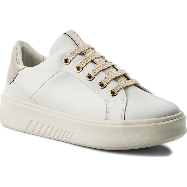 Sneakersy GEOX D Nhenbus A D828DA 00085 C1000 White