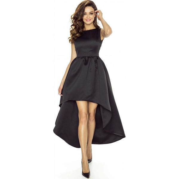 1b30f2c0b7b4d1 Czarna Sukienka Asymetryczna Wieczorowa - Czarne sukienki damskie ...