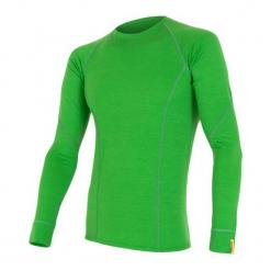 Sensor Koszulka Termoaktywna Z Długim Rękawem Merino Wool Active M Safari M. Zielone koszulki sportowe męskie Sensor, z materiału, z długim rękawem. Za 215.00 zł.