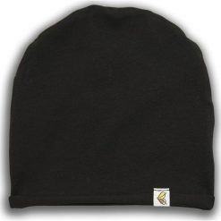 Czapka dziecięca Czarna Owca czarna r. 62 (NCO-04). Czarne czapki dla dzieci Nanaf Organic. Za 35.19 zł.