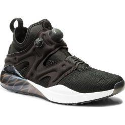 Buty Reebok - The Pump Izarre BS5931 Black/Oil Slick/White/Vlt. Czarne obuwie sportowe damskie Reebok, z materiału. W wyprzedaży za 379.00 zł.