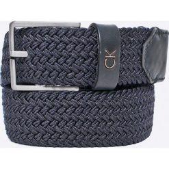 Calvin Klein Jeans - Pasek. Szare paski damskie Calvin Klein Jeans, w paski, z bawełny. W wyprzedaży za 129.90 zł.