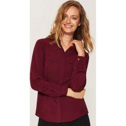 Gładka koszula - Bordowy. Czerwone koszule damskie House. Za 59.99 zł.