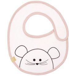 Śliniak wodoodporny Lassig Little Chums Mysz 0m+. Szare śliniaki dla dzieci Lassig. Za 31.99 zł.