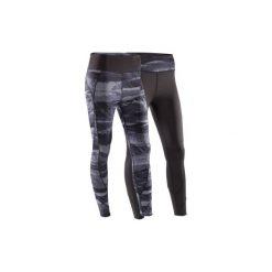 Legginsy do jogi YOGA+ 920 damskie. Czarne legginsy damskie DOMYOS, z elastanu. Za 119.99 zł.