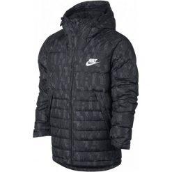 Nike Kurtka Zimowa M Nsw Dwn Fill Jkt Hd Aop Ssnl L. Brązowe kurtki sportowe męskie Nike, na zimę, z materiału. W wyprzedaży za 499.00 zł.