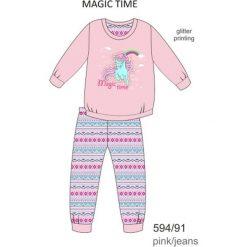 Piżama dziewczęca DR 594/91 Magic time Różowa r. 128. Czerwone bielizna dla chłopców Cornette. Za 49.87 zł.