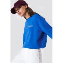 Moves Bluza Tessi-Lala - Blue. Niebieskie bluzy damskie Moves, z nadrukiem. Za 202.95 zł.