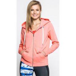 Under Armour - Bluza Favorite Fleece FZ. Różowe bluzy damskie Under Armour, z bawełny. W wyprzedaży za 179.90 zł.