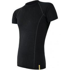 Sensor Koszulka Sportowa Męska Active Black L. Czarne koszulki sportowe męskie Sensor, z krótkim rękawem. W wyprzedaży za 49.00 zł.