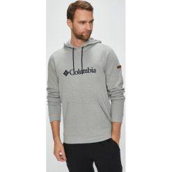 Columbia - Bluza Basic Logo II Hoodie. Szare bluzy męskie Columbia, z aplikacjami, z bawełny. W wyprzedaży za 219.90 zł.