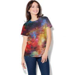 Colour Pleasure Koszulka CP-030  249 fioletowo-żółto-czerwona r. XXXL/XXXXL. T-shirty damskie Colour Pleasure. Za 70.35 zł.