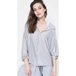 Missguided by Jourdan Dunn - Bluza. Szare bluzy damskie Missguided, z elastanu. W wyprzedaży za 79.90 zł.