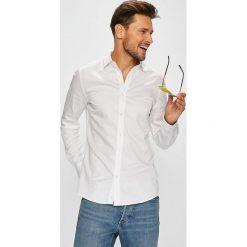 Only & Sons - Koszula. Szare koszule męskie Only & Sons, z bawełny, z włoskim kołnierzykiem, z długim rękawem. W wyprzedaży za 119.90 zł.