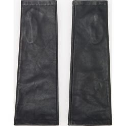 Skórzane rękawiczki - Czarny. Czarne rękawiczki damskie Reserved. Za 99.99 zł.