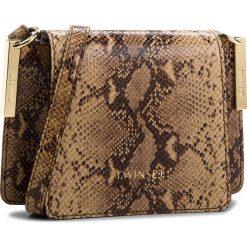 Torebka TWINSET - Tracolla Piccola AA8PG1  St. Camel 02877. Brązowe torebki do ręki damskie Twinset, ze skóry ekologicznej. W wyprzedaży za 809.00 zł.