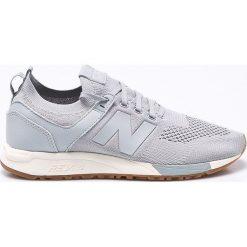 New Balance - Buty MRL247DS. Szare buty sportowe męskie New Balance, z gumy. W wyprzedaży za 239.90 zł.