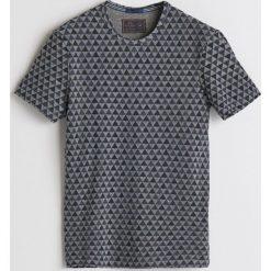 T-shirt z mikroprintem - Jasny szar. T-shirty męskie marki Giacomo Conti. W wyprzedaży za 39.99 zł.