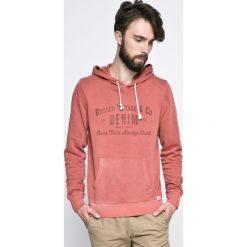 Jack & Jones Vintage - Bluza. Różowe bluzy męskie Jack & Jones Vintage, z nadrukiem, z bawełny. W wyprzedaży za 89.90 zł.