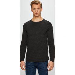 Review - Sweter. Czarne swetry przez głowę męskie Review, z bawełny, z okrągłym kołnierzem. Za 129.90 zł.