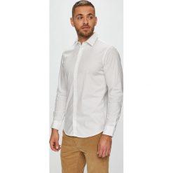 Jack & Jones - Koszula. Szare koszule męskie Jack & Jones, z bawełny, z klasycznym kołnierzykiem, z długim rękawem. W wyprzedaży za 89.90 zł.