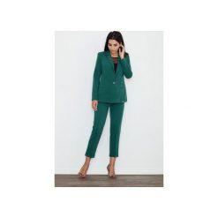 Spodnie M552 Zielony. Zielone spodnie materiałowe damskie Figl. Za 149.00 zł.