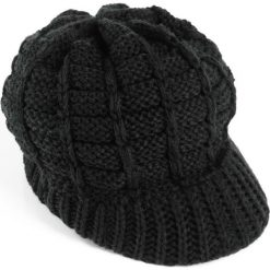 """Czapka """"Lille"""" bonprix czarny. Czapki i kapelusze damskie marki WED'ZE. Za 37.99 zł."""