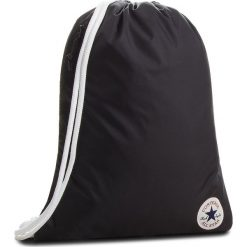 Plecak CONVERSE - 10006937-A01 001. Czarne plecaki damskie Converse, z materiału, sportowe. Za 79.00 zł.