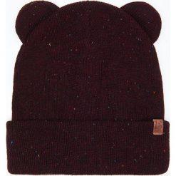 Czapka z uszami - Bordowy. Czerwone czapki i kapelusze damskie Cropp. Za 19.99 zł.