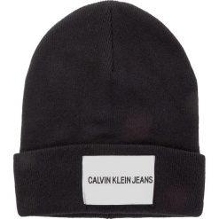 Czapka CALVIN KLEIN JEANS - J Calvin Klein Jeans Beanie M K40K400854 016. Czarne czapki i kapelusze męskie Calvin Klein Jeans. Za 179.00 zł.