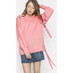 Only - Bluza. Różowe bluzy damskie Only, z bawełny. W wyprzedaży za 69.90 zł.