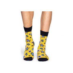 Skarpetki Happy Socks  BNG01-2000. Szare skarpety męskie Happy Socks, z bawełny. Za 24.43 zł.
