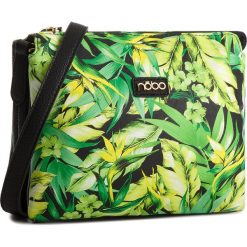 Torebka NOBO - NBAG-E4140-CM02  Zielony. Zielone listonoszki damskie Nobo, ze skóry ekologicznej. W wyprzedaży za 119.00 zł.