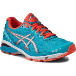Buty ASICS - GT-1000 5 T6A8N Aquarium/Silver/Flash Coral 3993. Niebieskie obuwie sportowe damskie Asics, z materiału. W wyprzedaży za 329.00 zł.