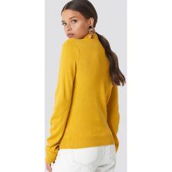 Trendyol Sweter z półgolfem - Yellow. Żółte swetry damskie Trendyol, z materiału. Za 80.95 zł.