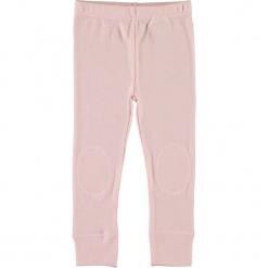 """Legginsy """"Willow"""" w kolorze jasnoróżowym. Czerwone legginsy dla dziewczynek Name it Baby, z wełny. W wyprzedaży za 49.95 zł."""