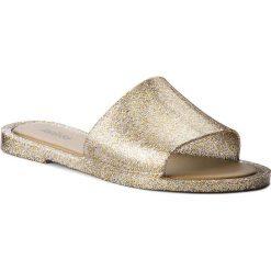 Klapki MELISSA - Soul Ad 32343 Mixed Golden Glitter 03771. Szare klapki damskie Melissa, z tworzywa sztucznego. W wyprzedaży za 179.00 zł.