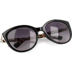 Okulary przeciwsłoneczne FURLA - Delizia 919641 D 151F REM Onyx. Czarne okulary przeciwsłoneczne damskie Furla. Za 880.00 zł.