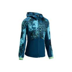 Bluza fitness cardio 520. Niebieskie bluzy sportowe damskie DOMYOS. Za 79.99 zł.
