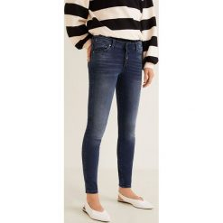 Mango - Jeansy push-up Uptown. Niebieskie jeansy damskie Mango. Za 129.90 zł.