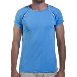 Koszulka damska ASICS - W's Ss Crew Top 322222  8097 S. Niebieskie t-shirty damskie Asics, z elastanu. Za 149.00 zł.