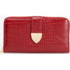 Portfel - Czerwony. Czerwone portfele damskie Reserved. Za 79.99 zł.