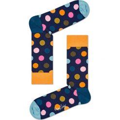 Happy Socks - Skarpety Big Dot. Szare skarpety męskie Happy Socks, z bawełny. W wyprzedaży za 29.90 zł.