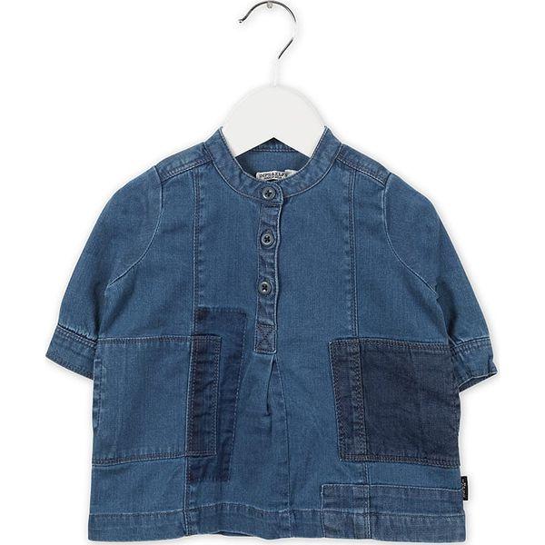 1099c384bb Dżinsowa sukienka w kolorze niebieskim - Niebieskie sukienki dla  dziewczynek marki Imps   Elfs. W wyprzedaży za 75.95 zł.