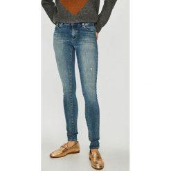 Only - Jeansy Carmen. Niebieskie jeansy damskie Only. Za 259.90 zł.