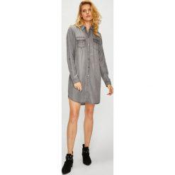 Vero Moda - Sukienka. Szare sukienki damskie Vero Moda, z lyocellu, casualowe. Za 169.90 zł.
