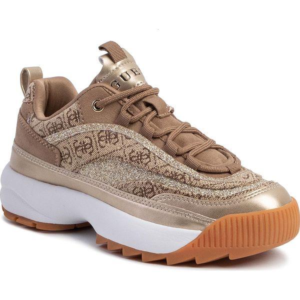Sneakersy GUESS Kaysie6 FL5KY6 FAL12 BEIGEBROWN